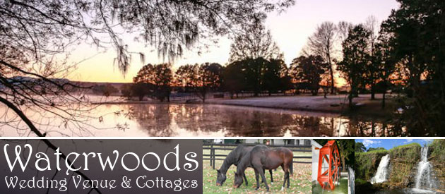 WATERWOODS WEDDING VENUE AND COTTAGES