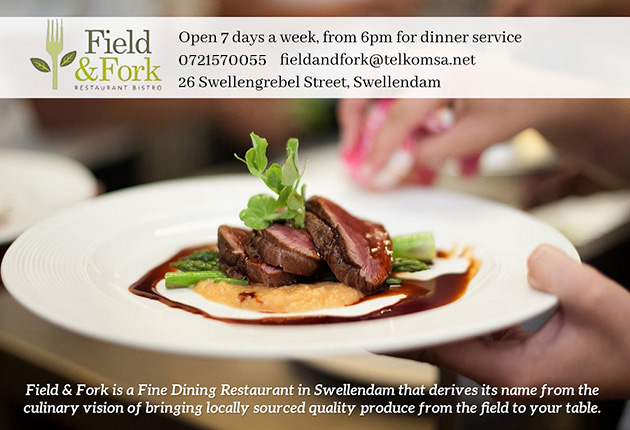 FIELD AND FORK RESTAURANT, SWELLENDAM